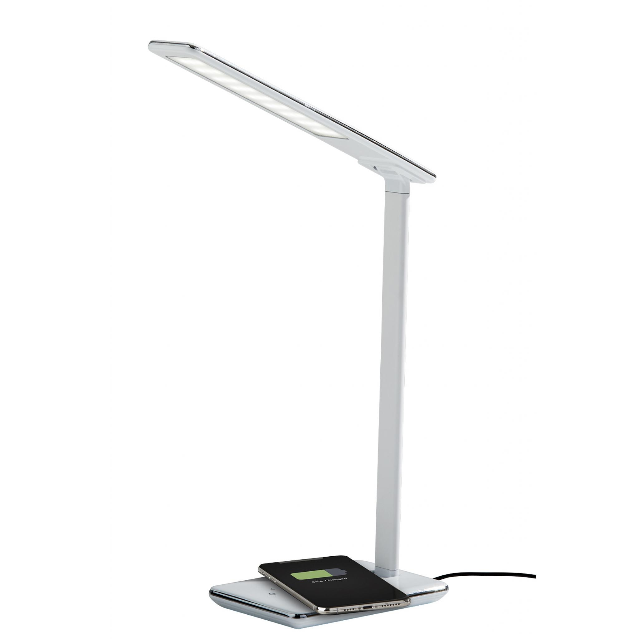 Declan LED AdessoCharge Wireless Charging Multi-Function Desk Lamp 1